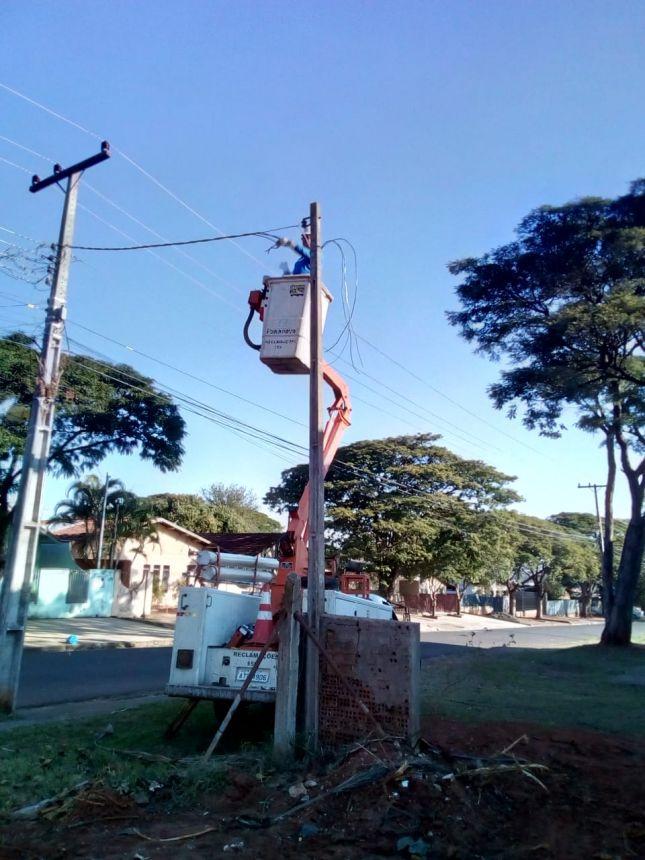 Fiação do ginásio da Vila Operária é roubada pela terceira vez