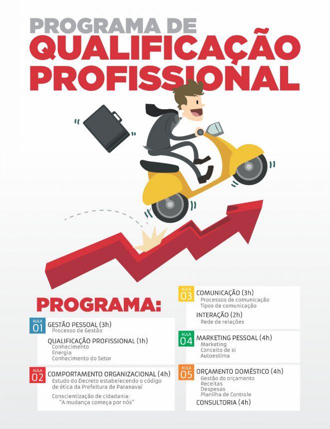 Prefeitura lança Programa de Qualificação Profissional para os servidores