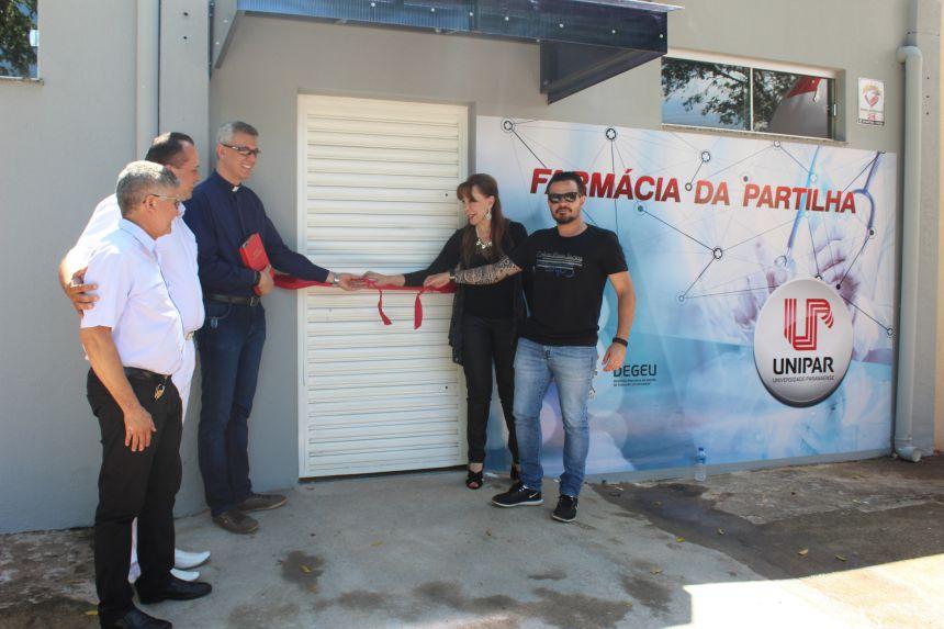 Farmácia da Partilha é inaugurada em Paranavaí