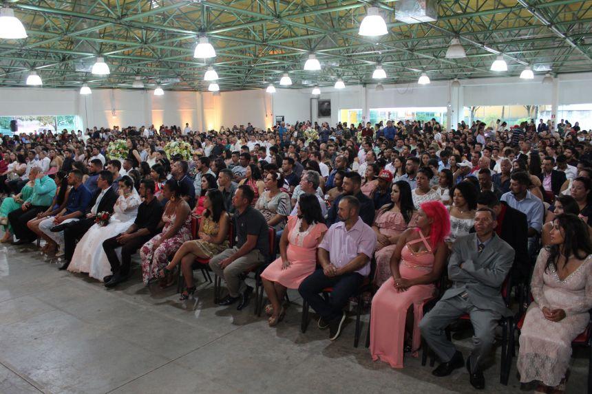 245 casais formalizaram união durante Casamento Coletivo no último sábado