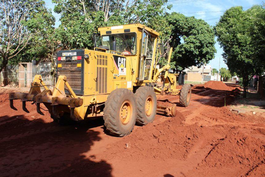 Pavimentação nos jardins Jequitibá e Vista Alegre vai realizar sonho de moradores