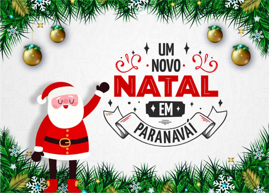 Papai Noel chega a Paranavaí nesta sexta-feira