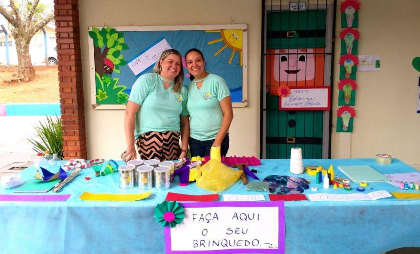 Escola Dácia Figueiredo Fortes finaliza projetos educacionais com dia especial de atividades