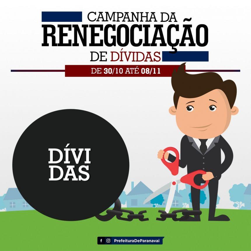 Campanha de Renegociação de Dívidas do Procon vai até dia 8