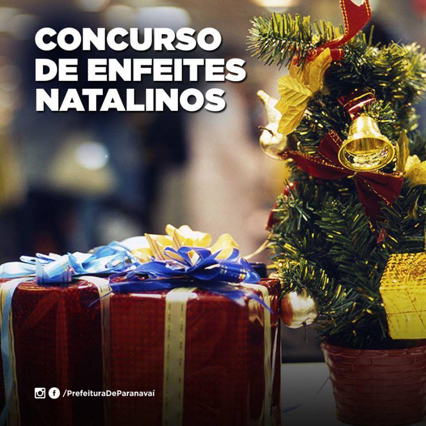 Inscrições para concurso de enfeites natalinos de vitrines vão até dia 14 de dezembro