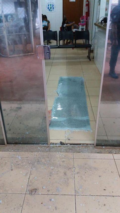 Ladrões arrombam UBS Campo Belo e furtam TV