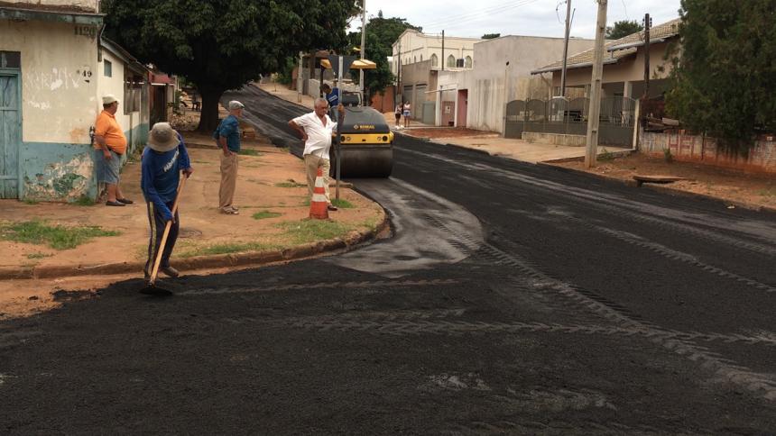 Infraestrutura recupera ruas da Vila City