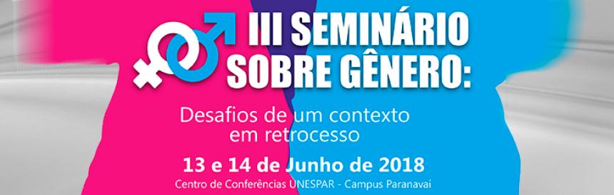 Unespar realiza III Seminário sobre Gênero na próxima semana
