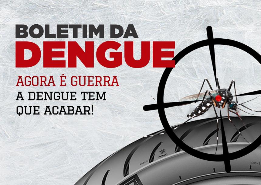 Prefeitura divulga Boletim da Dengue toda quarta-feira
