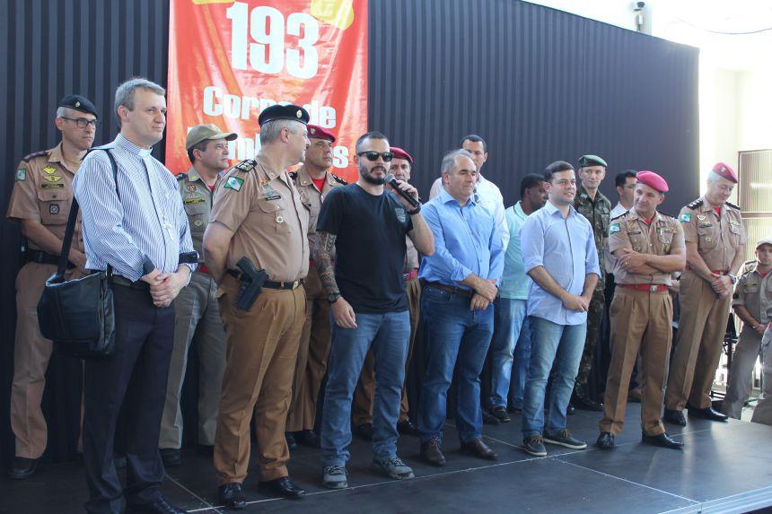 Corpo de Bombeiros de Paranavaí é oficialmente um novo Subgrupamento