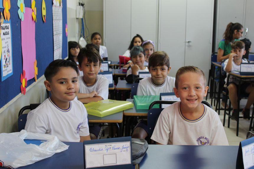 Rede municipal tem mais de 7 mil alunos de volta às aulas