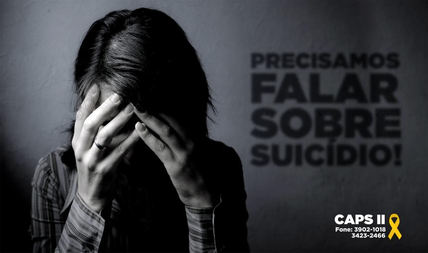 Suicídio: CAPS II oferece tratamento e acompanhamento para prevenção
