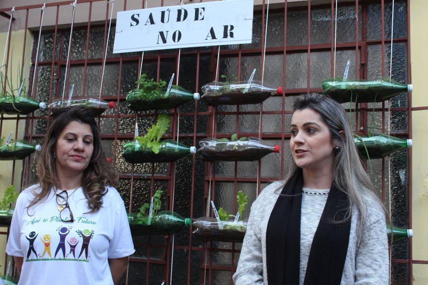 Escola Cecília Meireles inaugura Espaço Florescer com horta sustentável
