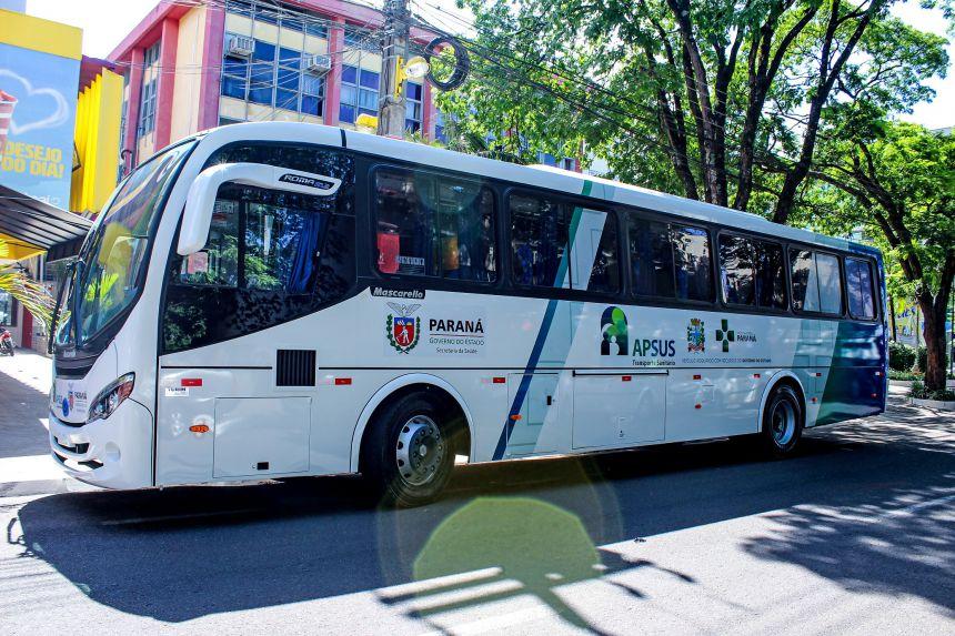 Município ganha novo ônibus para transporte de pacientes