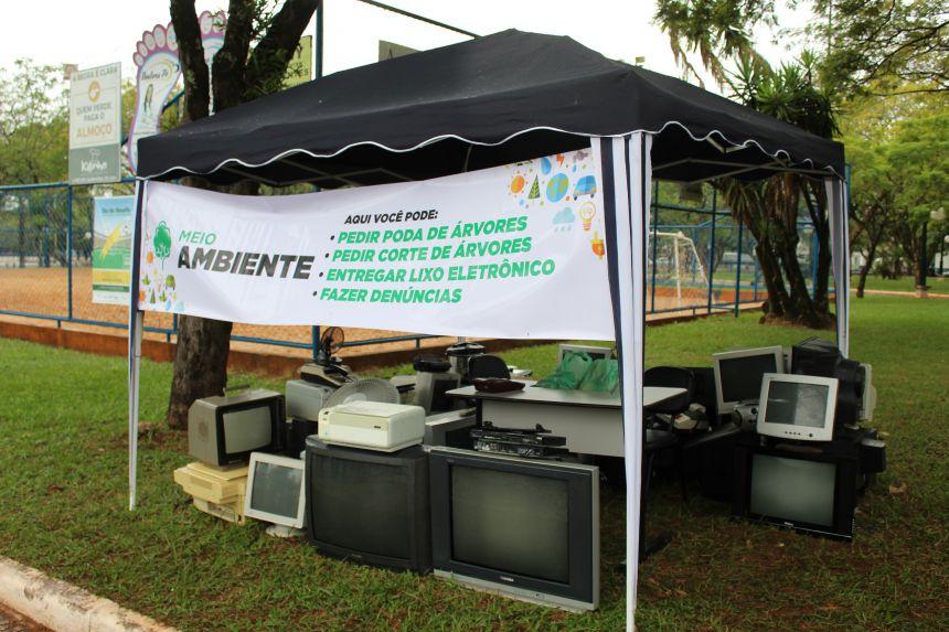Campanha de coleta de lixo eletrônico vai até esta sexta em Paranavaí
