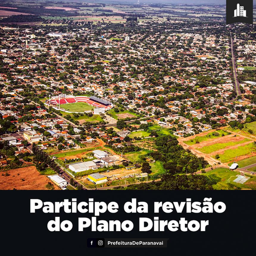 População pode participar da revisão do Plano Diretor preenchendo formulário on-line