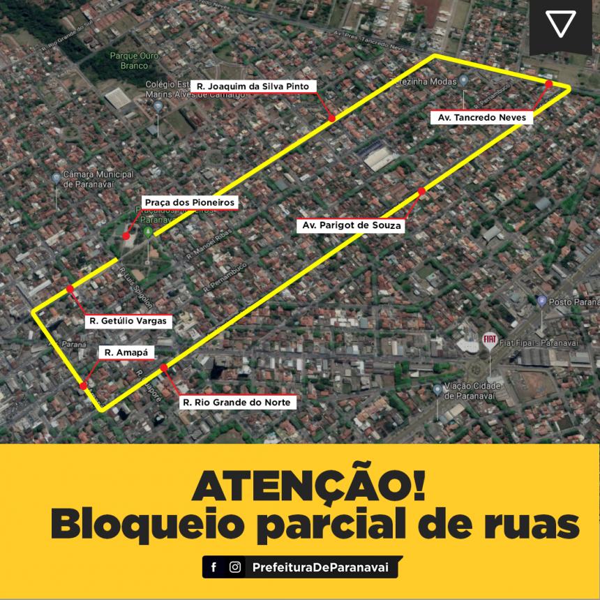 Ruas da região central serão parcialmente impedidas no domingo para Corrida Solidária