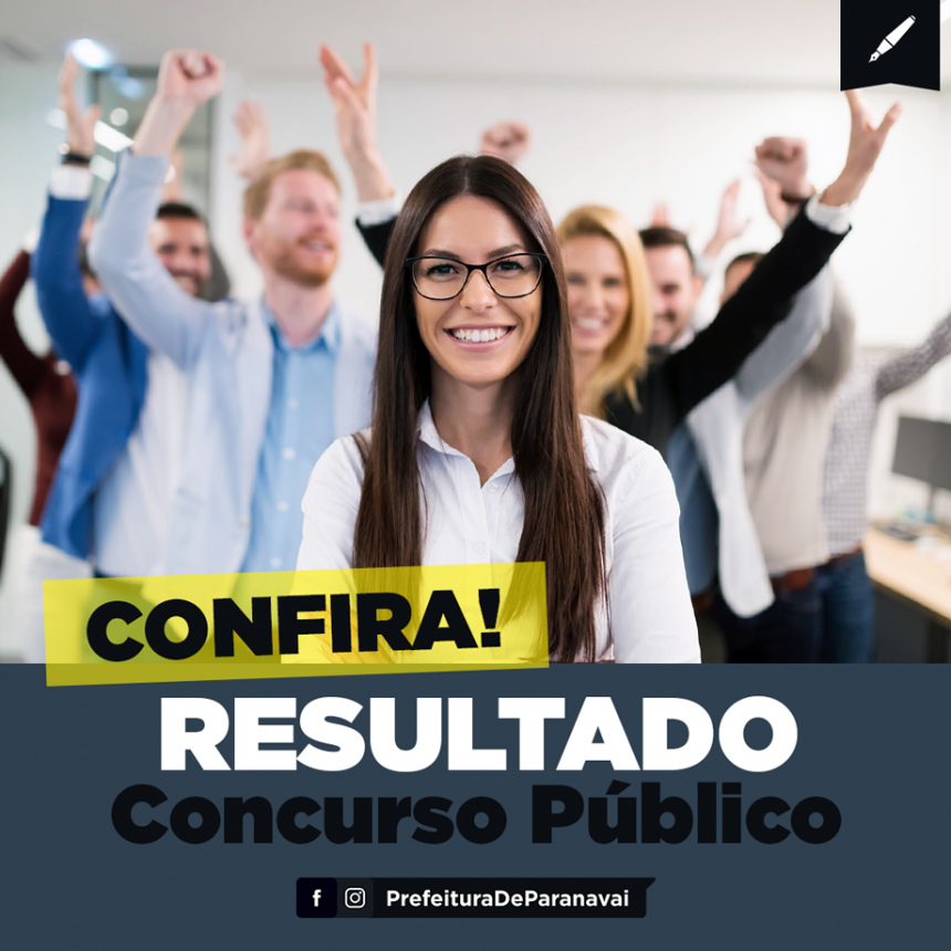 Resultados do Concurso da Prefeitura já estão disponíveis