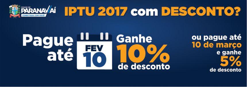 Sexta é o último dia para pagar IPTU com 10% de desconto