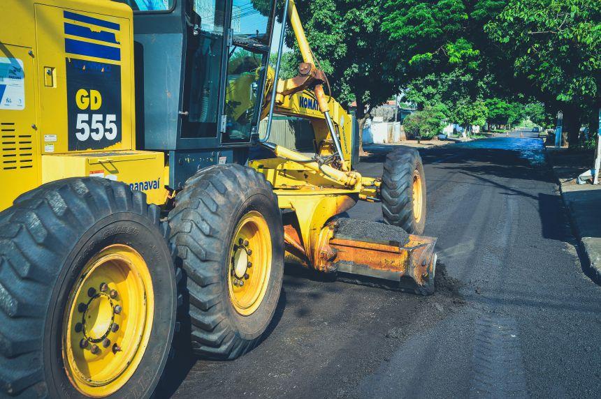 Projeto Reperfilar recuperou quatro ruas nesta semana