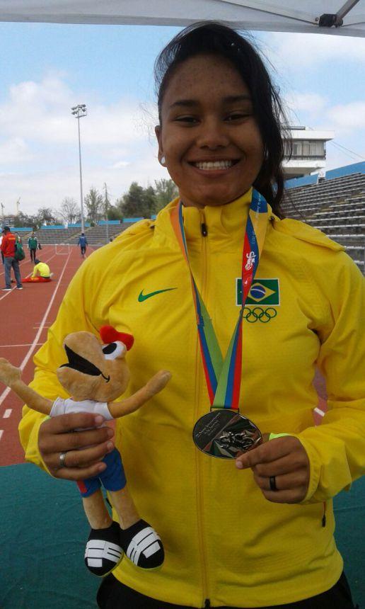 Atleta de Paranavaí conquista a prata em Jogos Sul-Americanos no Chile