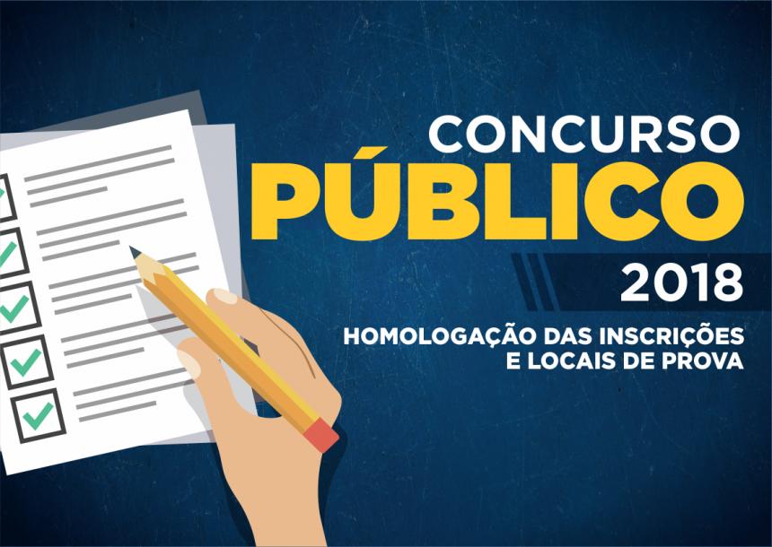 Divulgados editais de homologação do Concurso da Prefeitura