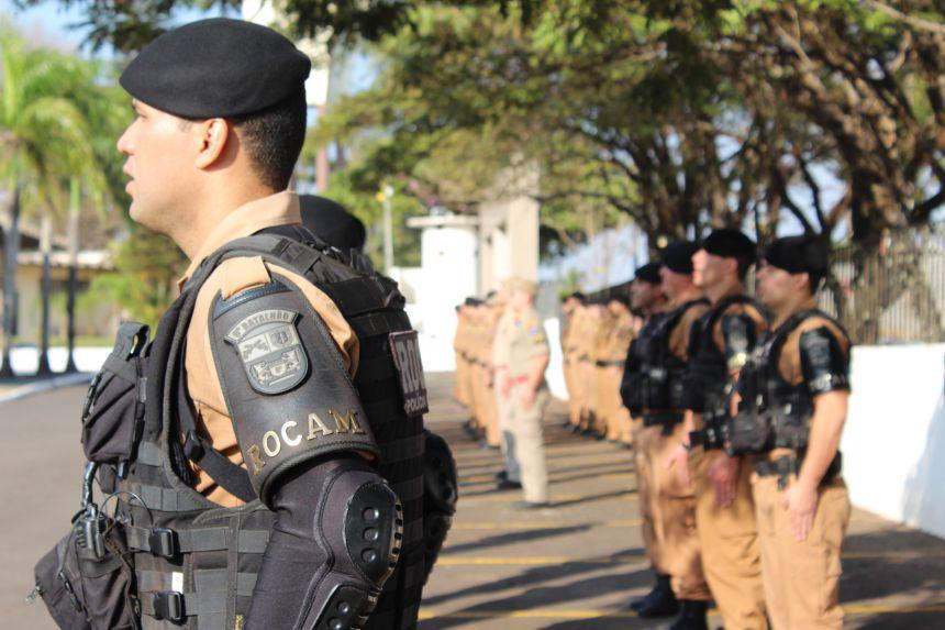 Prefeito KIQ exalta união entre as forças policiais nas comemorações de aniversário da PM