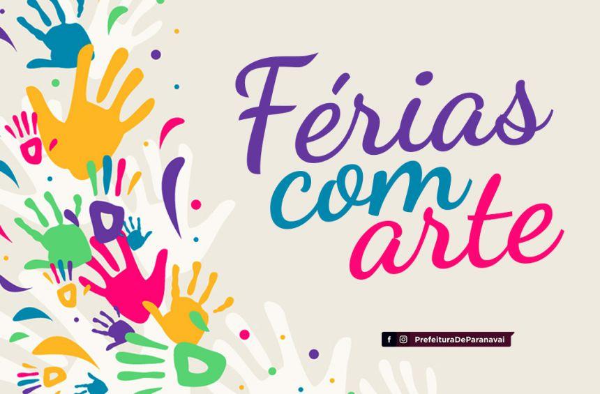 Fundação Cultural vai oferecer oficinas gratuitas por uma semana no Projeto Férias com Arte