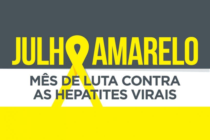 Julho Amarelo é o mês da luta contra hepatites virais
