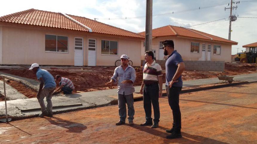 Obras no Residencial Santa Maria entram na reta final