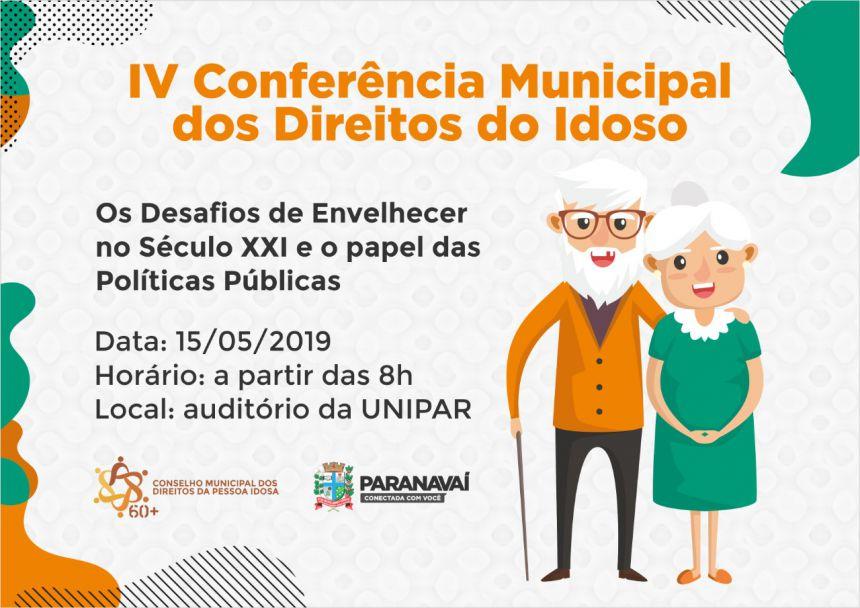 Conferência do Idoso vai discutir os desafios de envelhecer no século XXI