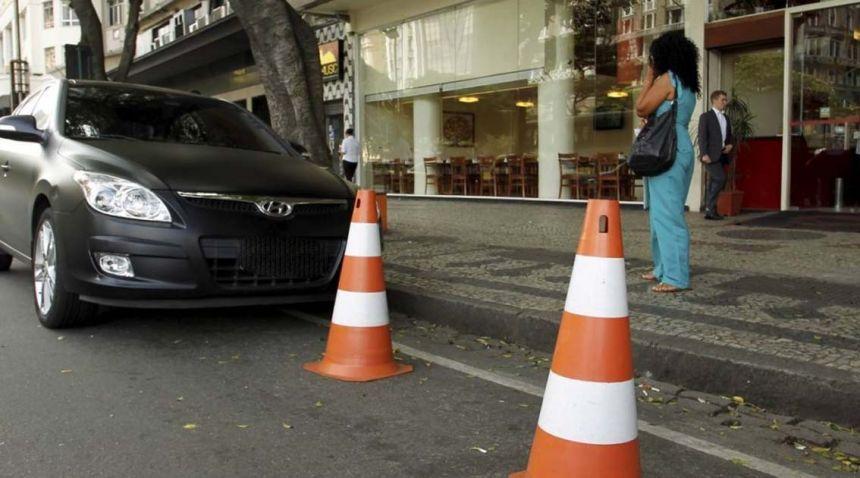 Ditran intensifica fiscalização de cones irregulares na cidade
