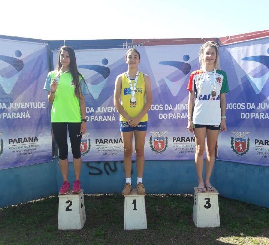 Atletismo de Paranavaí conquista 7 medalhas de ouro nos Jogos da Juventude