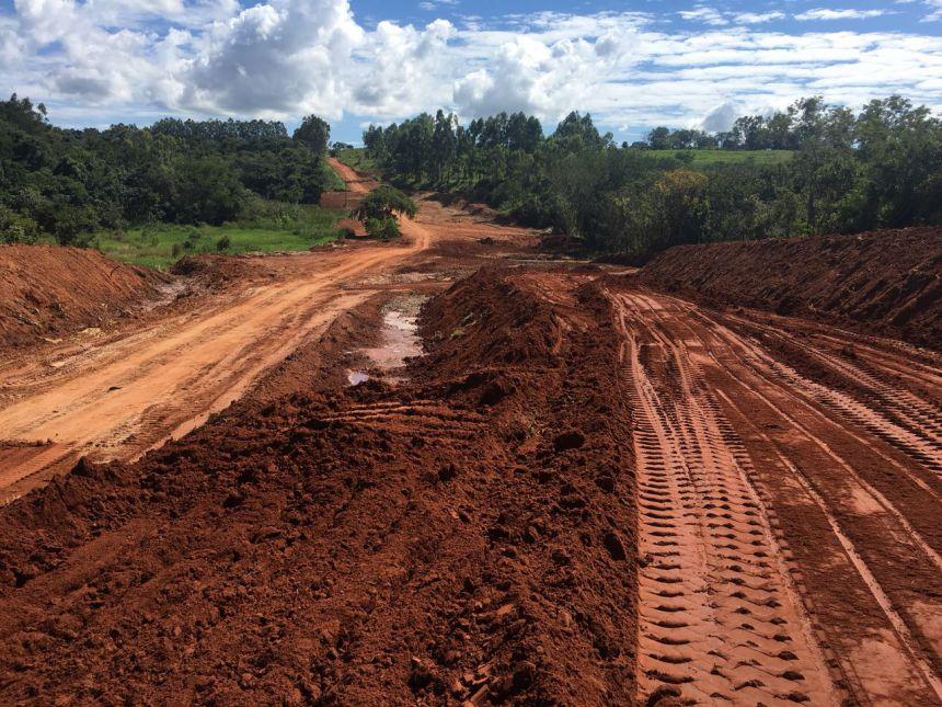 Estrada rural Cristo Rei Água Nova passa por readequação