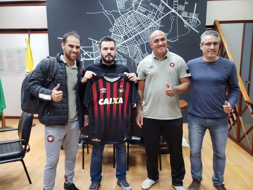 Município vai realizar parceria com Athletico Paranaense