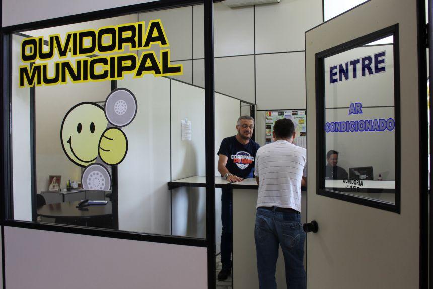 Ouvidoria é um canal de comunicação entre a população e a Prefeitura