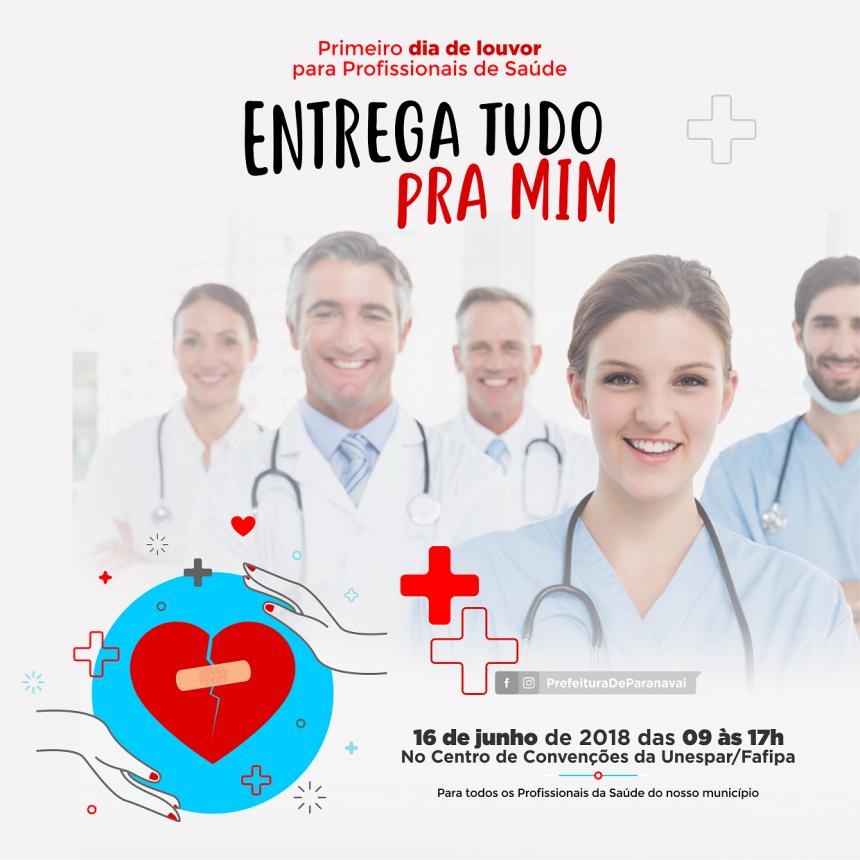 Abertas as inscrições para o 1º Dia de Louvor para Profissionais de Saúde
