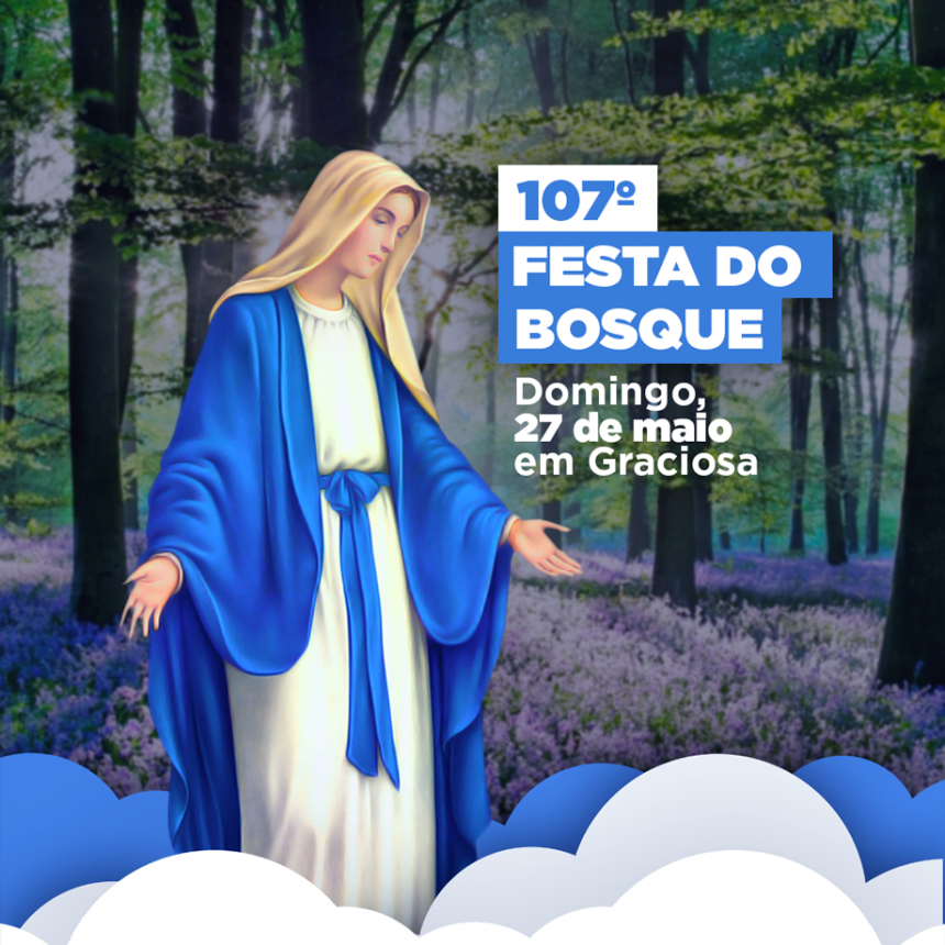 Graciosa se prepara para a 107ª edição da Festa do Bosque