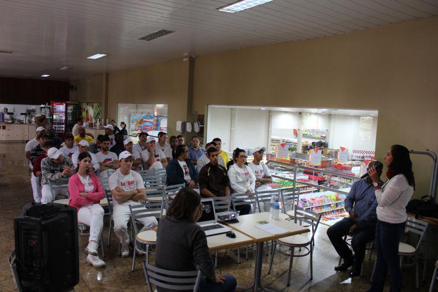 Município realiza palestra para manipuladores de alimentos