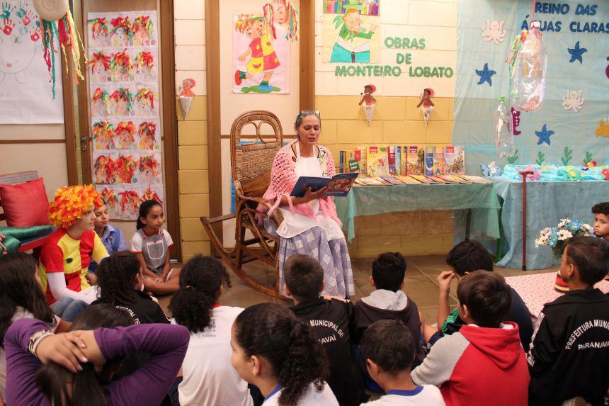 Escolas fazem intercâmbio sobre trabalhos de Monteiro Lobato