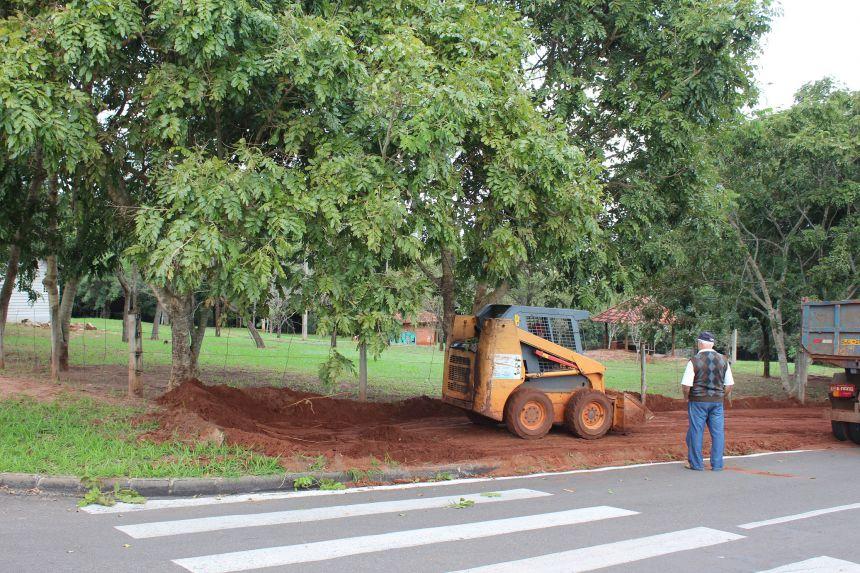 Iniciada obra de reforma do Parque Ouro Branco