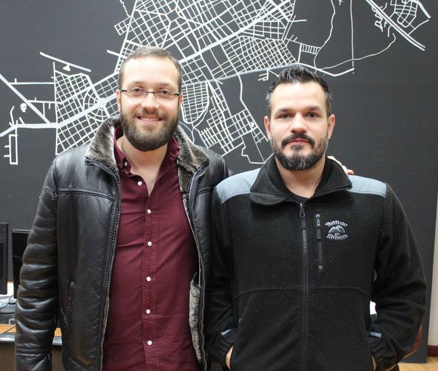 Prefeito KIQ recebe visita do deputado federal Filipe Barros