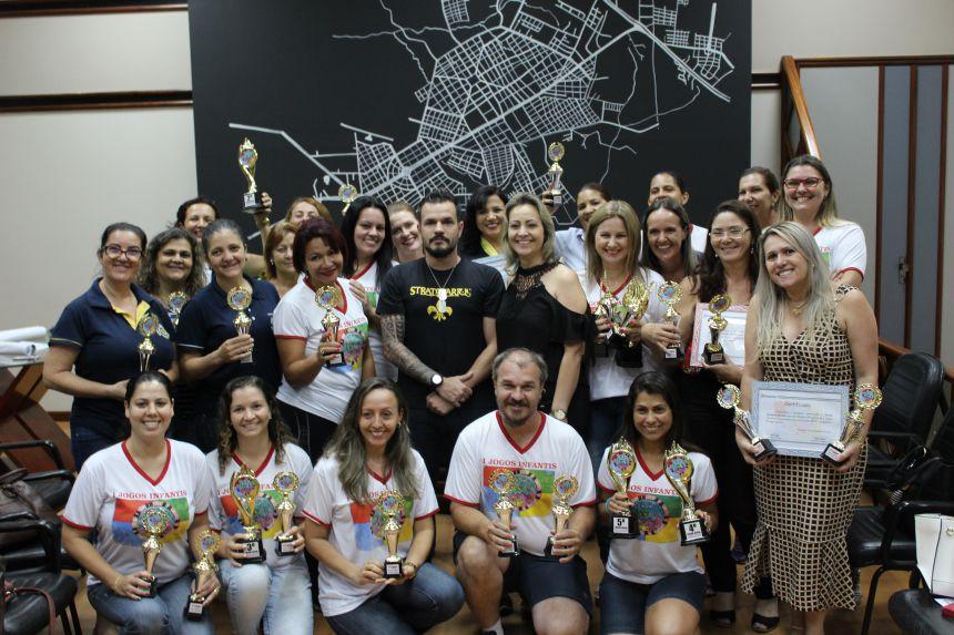 Escola Getúlio Vargas vence a 1ª edição dos Jogos Infantis Compromisso com a Educação