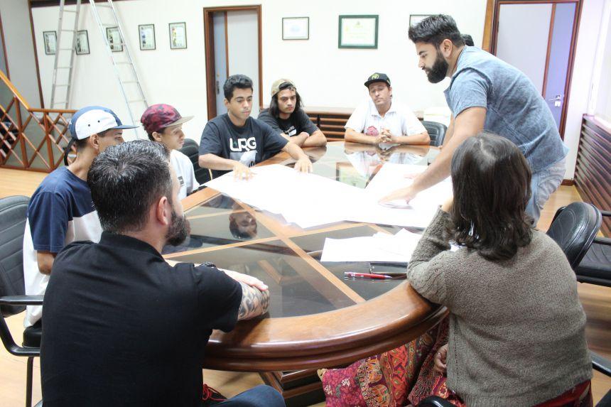 Município apresenta projeto para construção de um Skate Park em Paranavaí