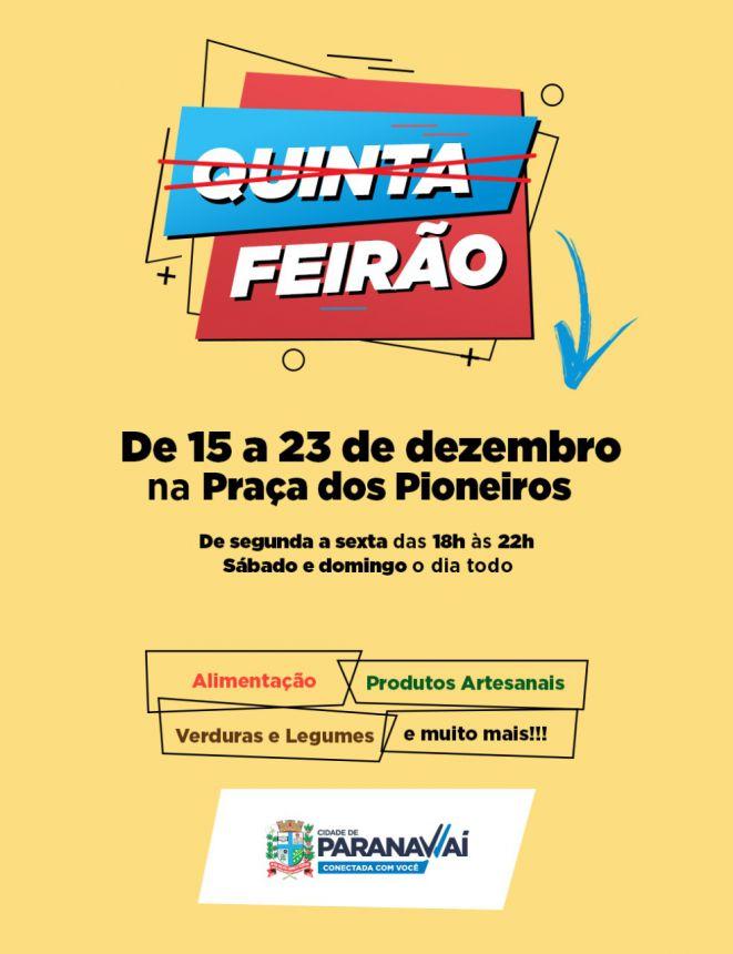 Produtores do Quinta Feirão estarão na Praça dos Pioneiros até sábado