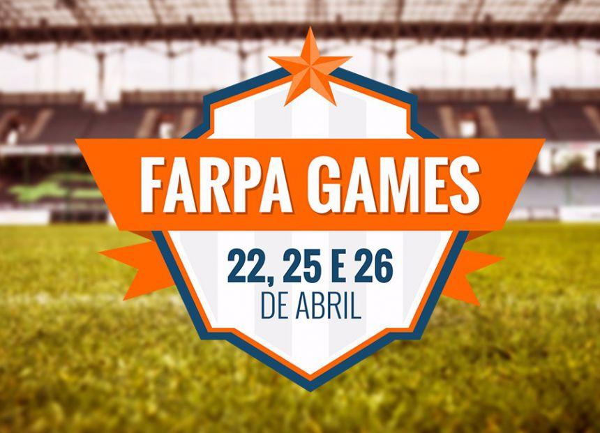 Secretarias municipais podem inscrever suas equipes para o FARPA Games