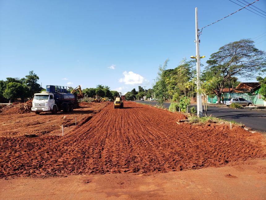 Infraestrutura inicia obra na Avenida Carlos Gomes