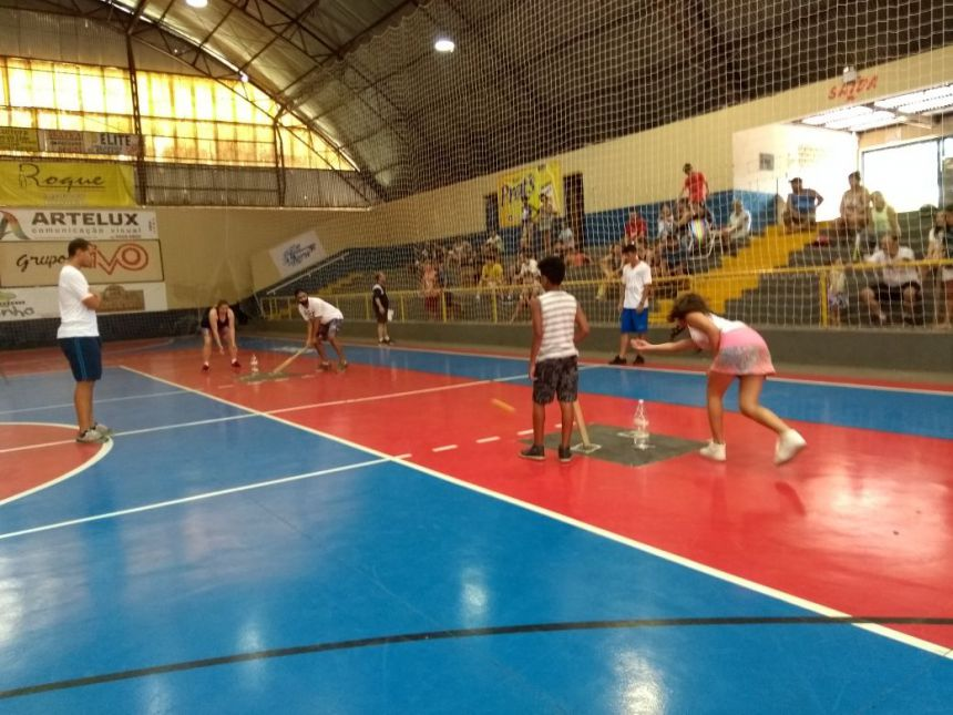 Torneio de Bets levou quase 100 pessoas ao Ginásio Lacerda Braga