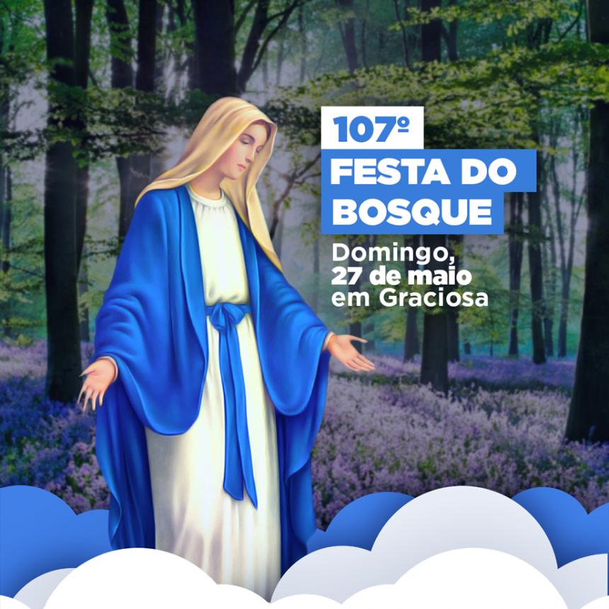 107ª Festa do Bosque será neste domingo