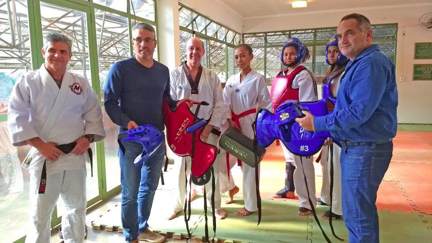 Prefeitura inaugura novo centro de treinamento de artes marciais